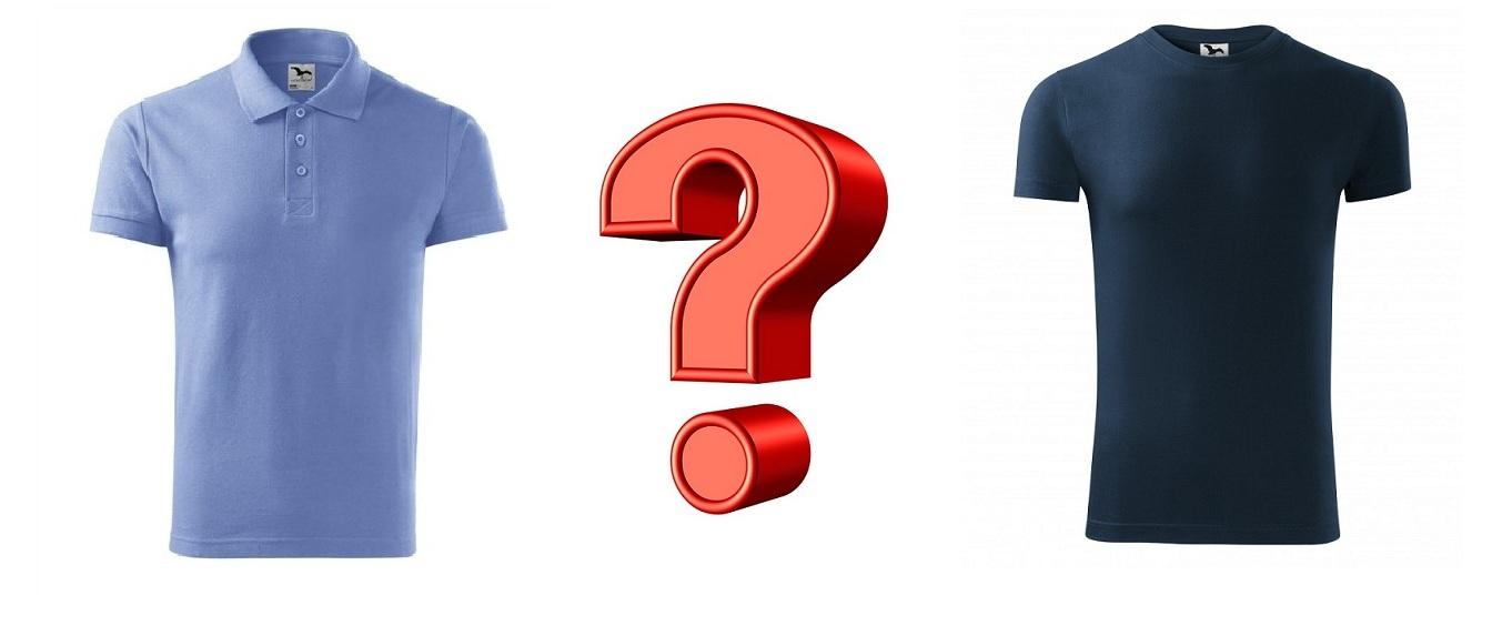 Polokošeľa alebo tričko?